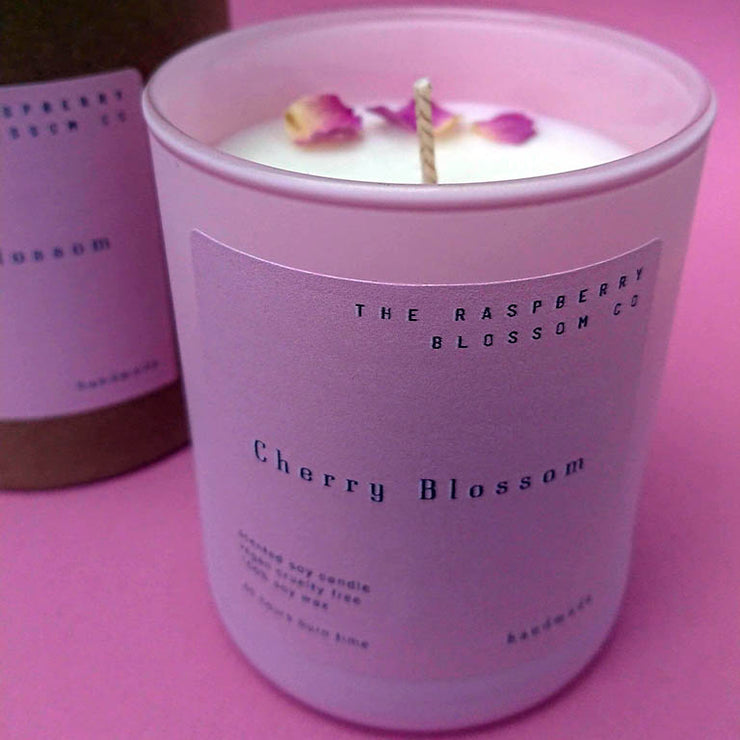 The Pink Collection - Caribean Coconut 40 Hour Soy Wax Candle