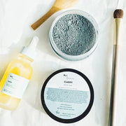 Sea Clay & Activated Charcoal Clarifying Facial Mask - www.wicksandreeds.com