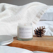 Cocoa & Patchouli - Soy Wax Candle - Handpoured in Bristol, England