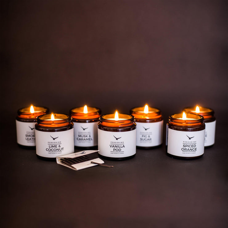 Gift Box of 3 Scented Handpoured Natural Soy Candles - www.wicksandreeds.com
