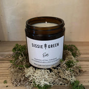 """Eve"" Hand Poured Soy Wax Candle 180ml by Sissie Green - www.wicksandreeds.com"