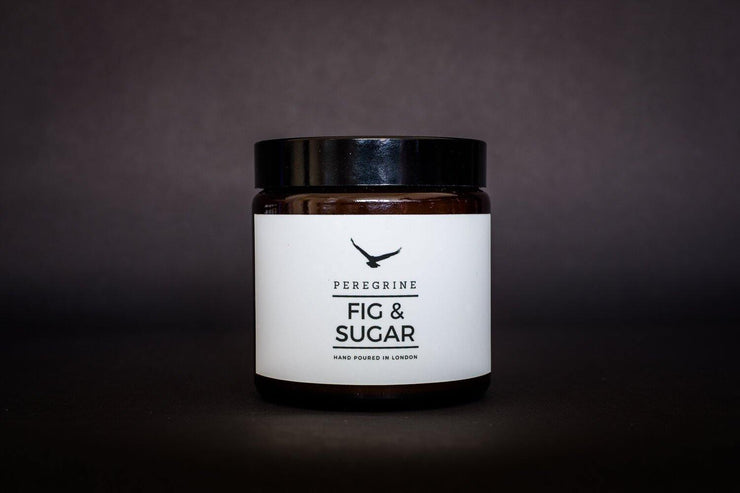 Fig & Sugar Large Triple Wick Handpoured Natural Soy Candle - www.wicksandreeds.com