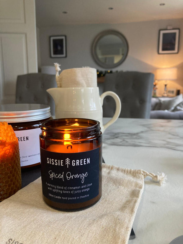 Spiced Orange 100% Soy Candle - Hand Poured in Cheshire