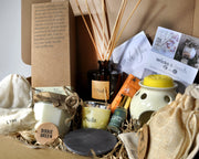 Medium Christmas Gift Hamper - Without Reed Diffuser - www.wicksandreeds.com