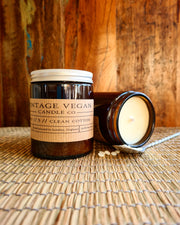 Clean Cotton Vegan Handmade Soy Candle