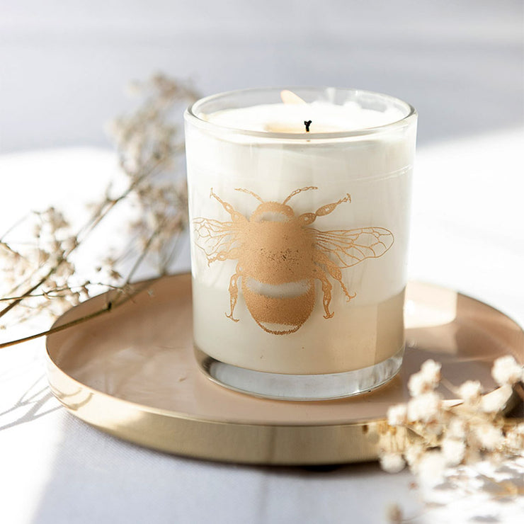 Mummy Bee Large Candle Made With Essential Oils