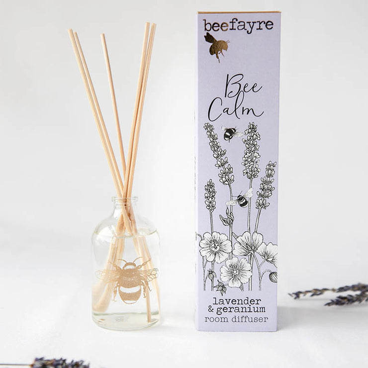 Lavender & Geranium Large Room Diffuser Made From A Natural Vegetable Base