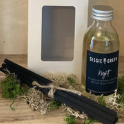 """Night"" Room Diffuser Handmade in England by Sissie Green - 150ml - www.wicksandreeds.com"