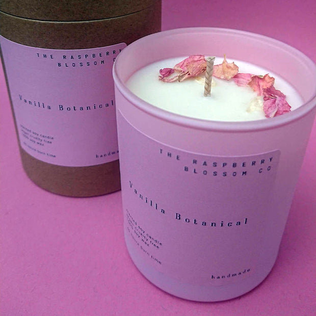 The Pink Collection - Strawberries & Cream- 40 Hours Soy Candle
