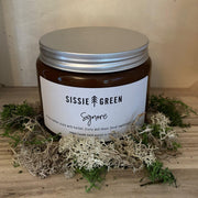 """Signore"" Triple Wick Hand Poured Soy Candle by Sissie Green - www.wicksandreeds.com"