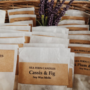 Cassis & Fig Vegan Soy Wax Melts - Handmade in England - www.wicksandreeds.com
