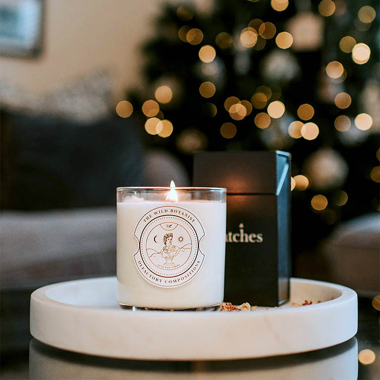 "Limited Edition of 100 ""Christmas Day"" Luxury Soy Candle Handmade in Cambridge"