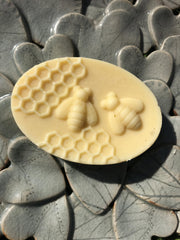 Jasmine & Ylang Ylang Handmade Body Lotion Bar - www.wicksandreeds.com