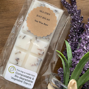 Natural Relaxation Soy Wax Melt Snap Bar - 100% Vegan & Cruelty Free