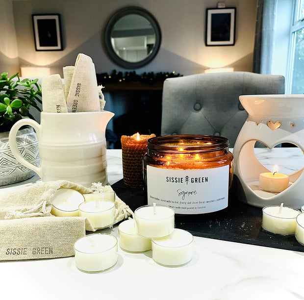 Scented Soy Vegan Tealights - Handmade in Cheshire