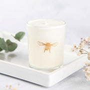Magnolia & Sandalwood Votive Candle Made With Essential Oils