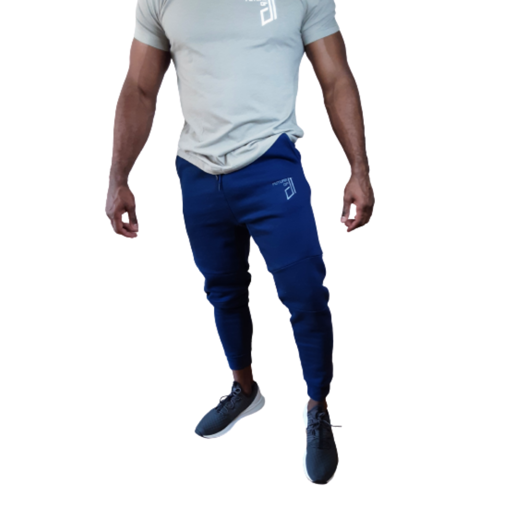 Future of D1 Athletic Joggers in Navy