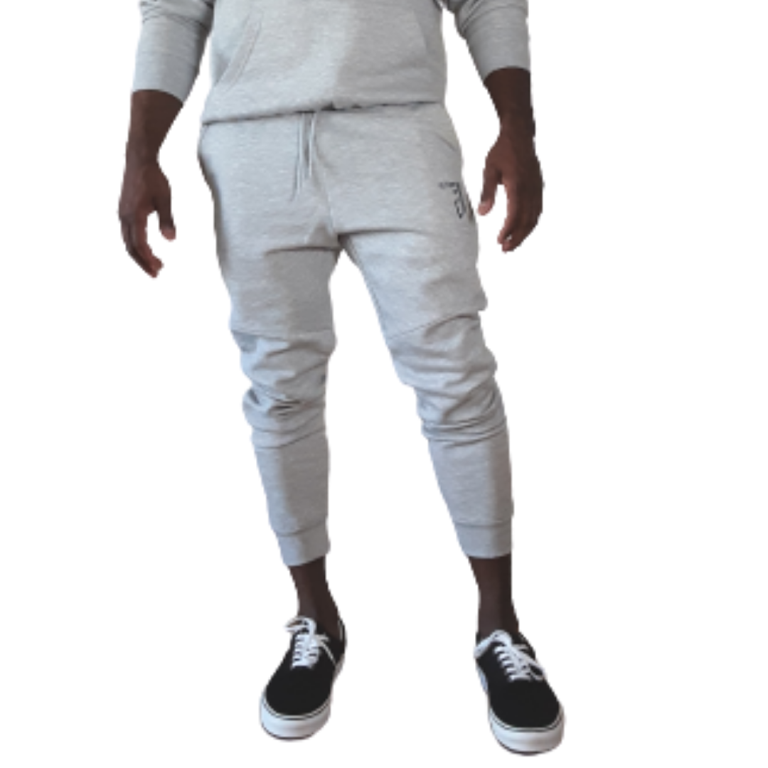 Future of D1 Athletic Joggers in Light Grey