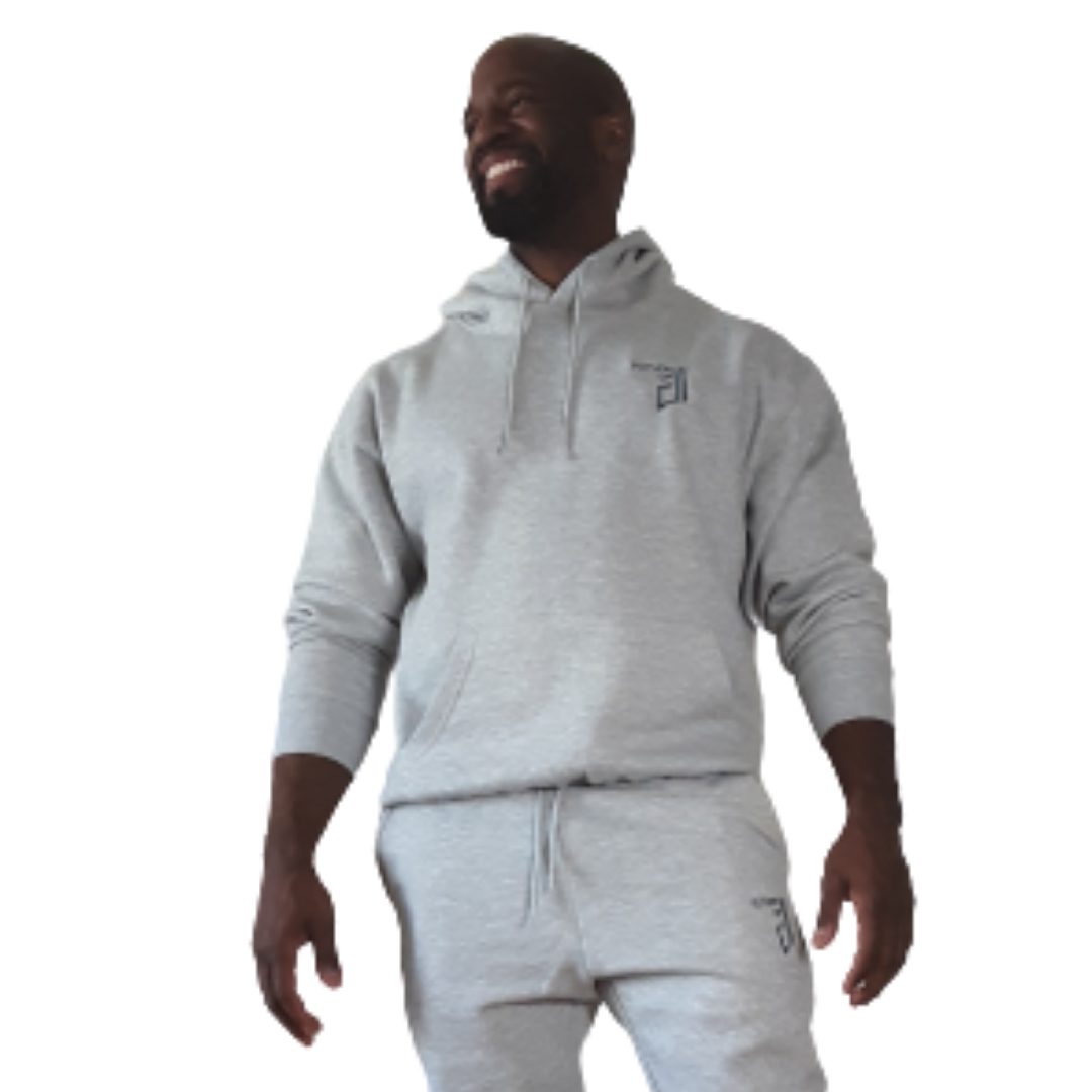 Future of D1's Hooded Sweatshirt in Light Grey
