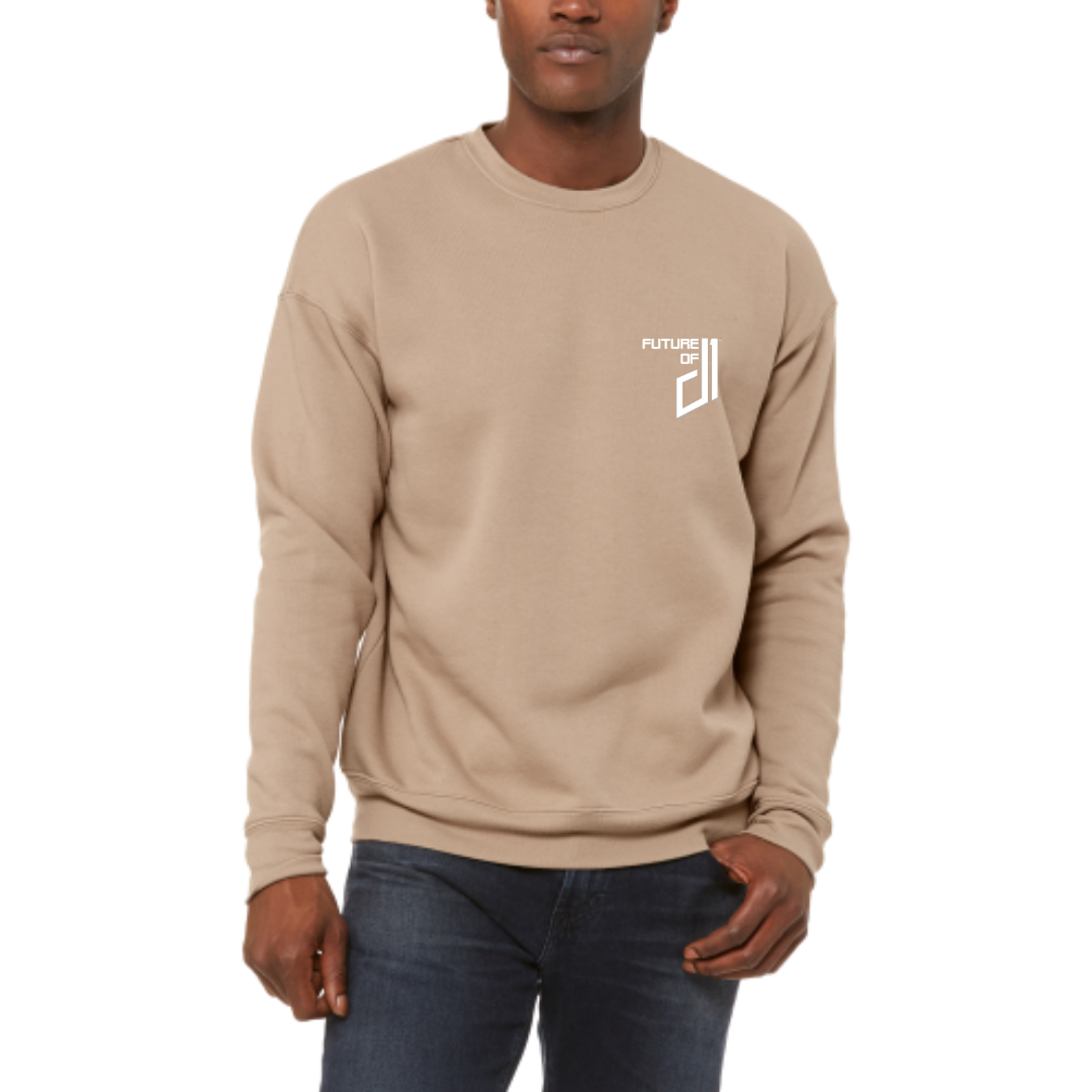 Future of D1 Crewneck Sweatshirt in Tan (Desert Sand)