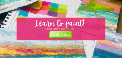 Online art courses with Stacy Spangler Art