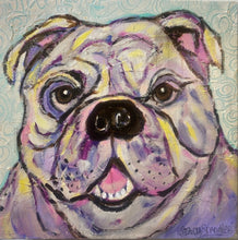 Load image into Gallery viewer, Bulldog Canvas Print