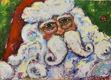 Load image into Gallery viewer, Be Jolly Santa Print (small size)