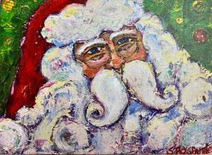 Be Jolly Santa Print (small size)