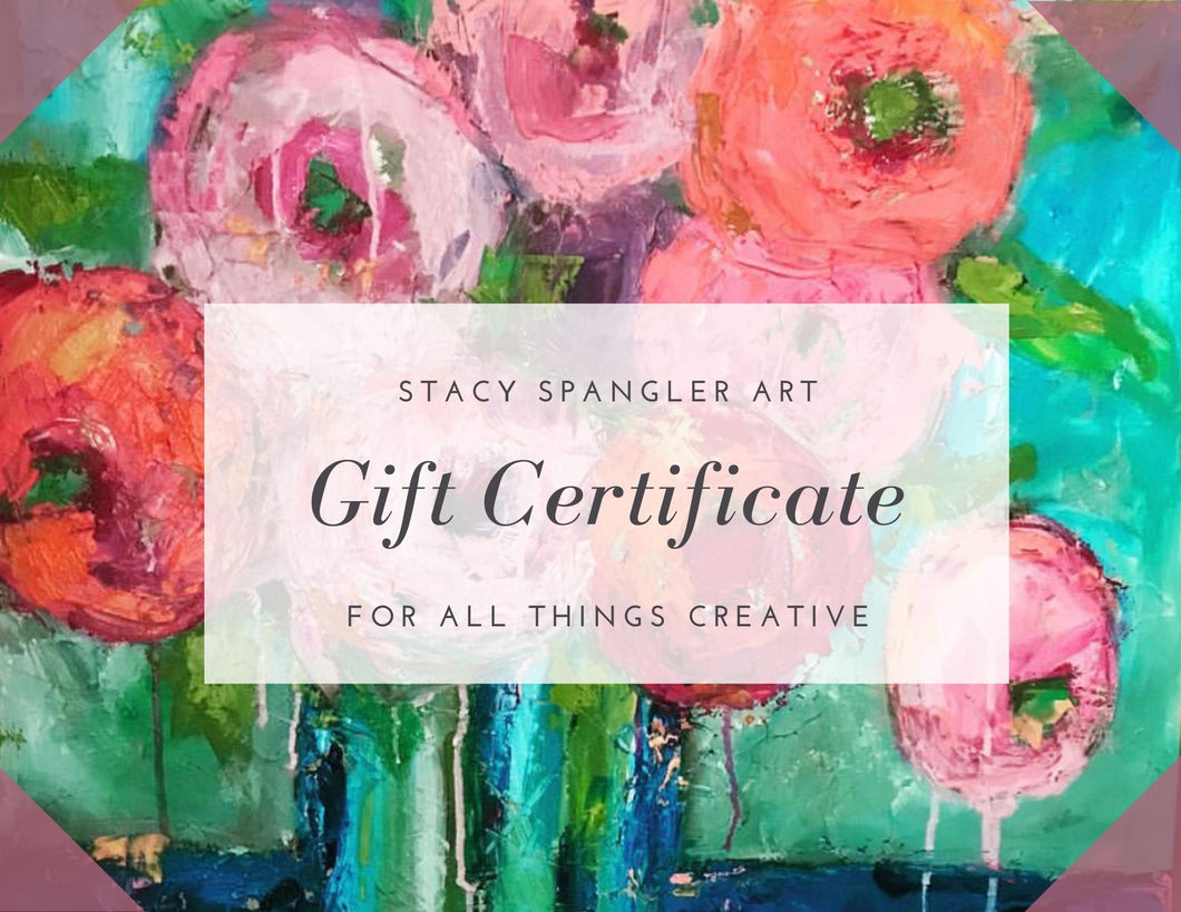 Stacy Spangler Art Gift Card
