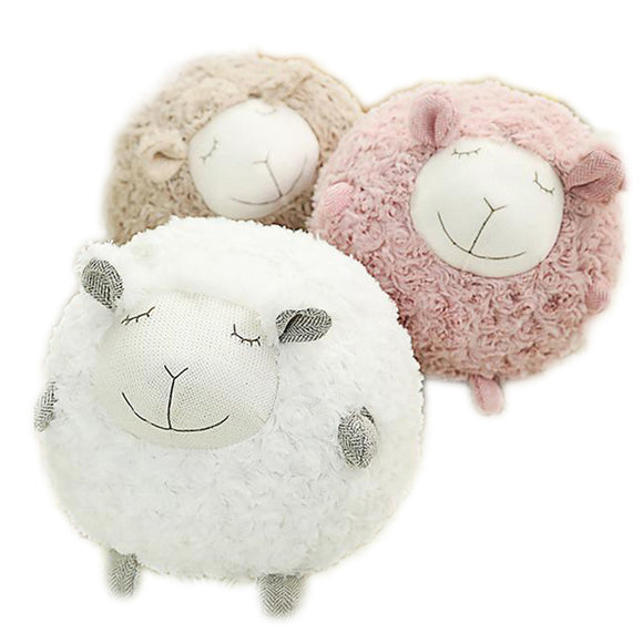 Sheep Doll in White and  Brown
