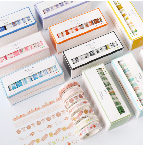 Cartoon Cute Tape Set