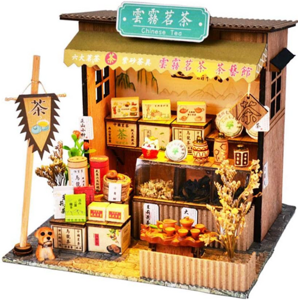 Chinese Style Tea Shop
