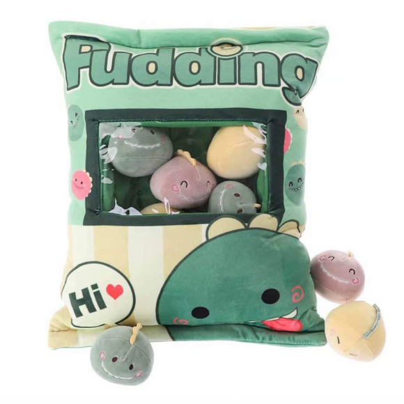 Plush Snack Pillow