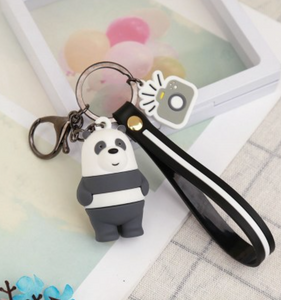 We Bare Bear Keychain