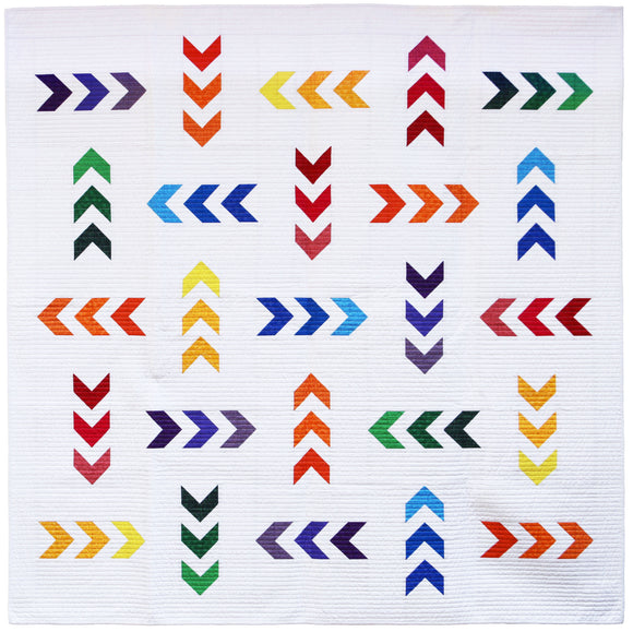 Mod Arrows Paper Pattern
