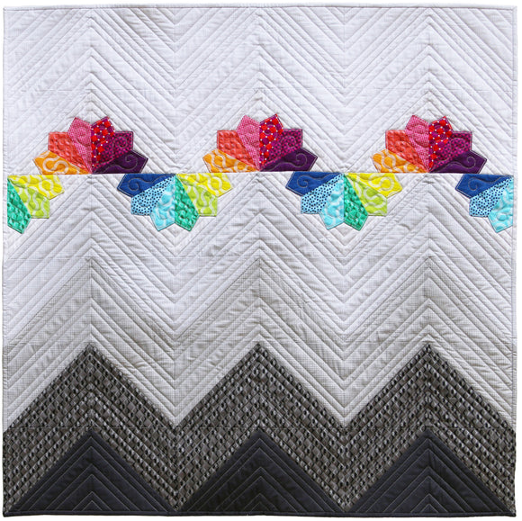 Mountain Rainbows PDF Quilt Pattern
