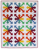 Rainbow Arrows PDF Pattern