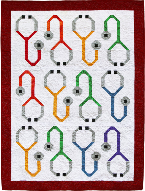 Stupendous Stethoscopes Paper Pattern