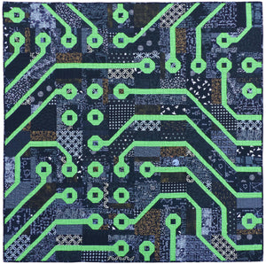 Circuit Board Paper Pattern