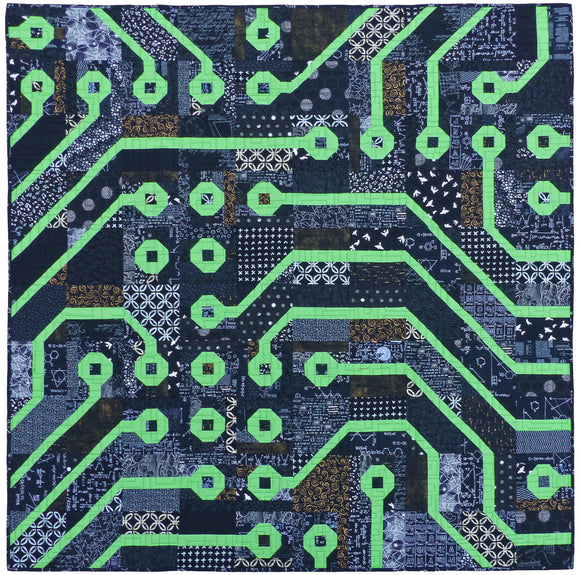 Circuit Board PDF Quilt Pattern