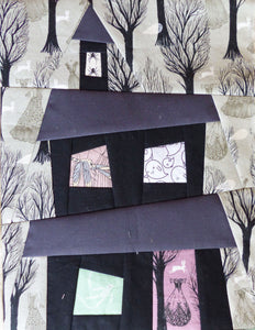 Haunted House Block PDF Pattern