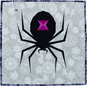 Spooky Spider Paper Pattern