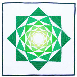 The Artichoke PDF Mini Quilt Pattern