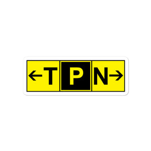 TPN Taxiway Papa - Stickers