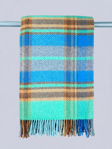 The Maynooth Merino and Cashmere Wool Throw