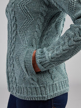 Load image into Gallery viewer, The Ballygalway Cable Knit Cardigan