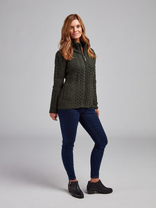 The Ballygalway Cable Knit Cardigan