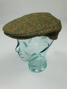 The Dungarvan Irish Tweed Flat Cap