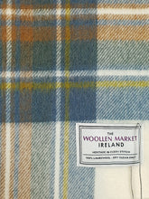 Load image into Gallery viewer, The Blue Stewart Tartan Lambswool Throw