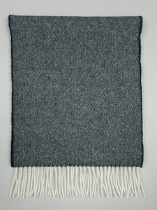 The Neale Wide Lambswool Scarf